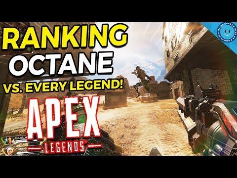 Ranking Octane Vs  Every Legend In Apex Legends! (Season 1