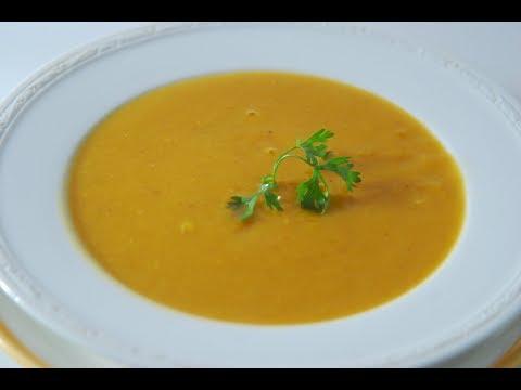 Carrot, Sweet Potato & Lentil Soup | Cooksmart | Sanjeev Kapoor Khazana