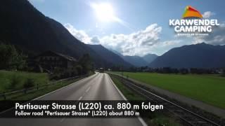 Karwendel Camping Maurach am Achensee - Anfahrtsvideo