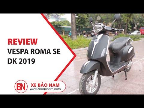 Xe Máy điện Vespa Roma SE DK 2019  Giá 14.000.000đ ► Cải Tiến Hoàn Toàn Kiểu Dáng Sành điệu(HD)