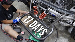 Finally Tubing the AWD 4 Rotor! Cutting it close