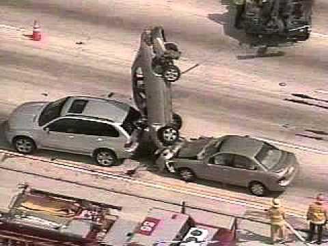 crazy weird car accidents