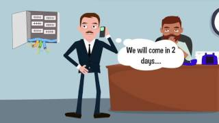CONTREX Telekom-VoIP-Plattform Animation