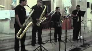 4S Saxophone Quartet Canon in D (Johan Pachelbel)