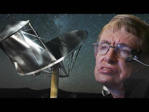 Stephen Hawking warned us about contacting aliens, but it ma