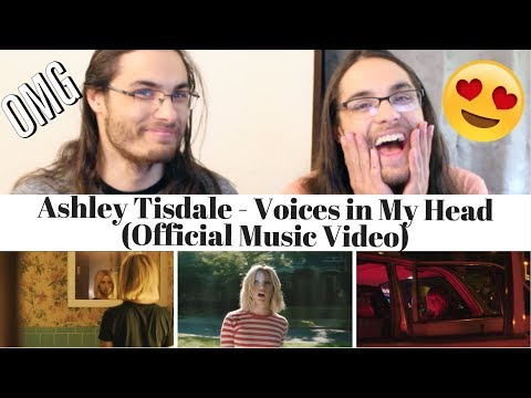 Ashley Tisdale - Voices in My Head    I Our Reaction  TWIN WORLD
