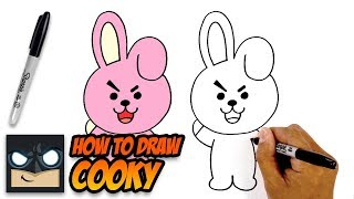 How to Draw BT21 | Cooky | Step-by-Step Tutorial for Beginners