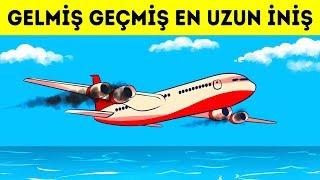 Bir Uçak Okyanusun Üzerinde İki Motorunu Da Kaybetti, O Yüzden Pilotların Başka Seçeneği Yoktu