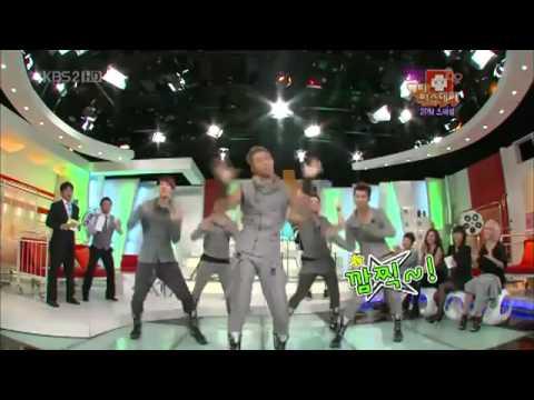 2PM dance Breath Miss A & Miss A Dance Heartbeat