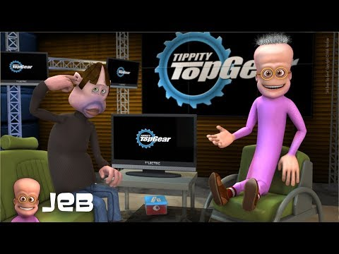 Jeb Does Top Gear | Funny CGI 3D Animated Short