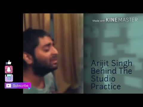 Phir Le Aaya Dil Behind The Scenes Practice In Recording Studio