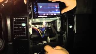 Nissan Titan 2013 Aftermarket Car Stereo - 4