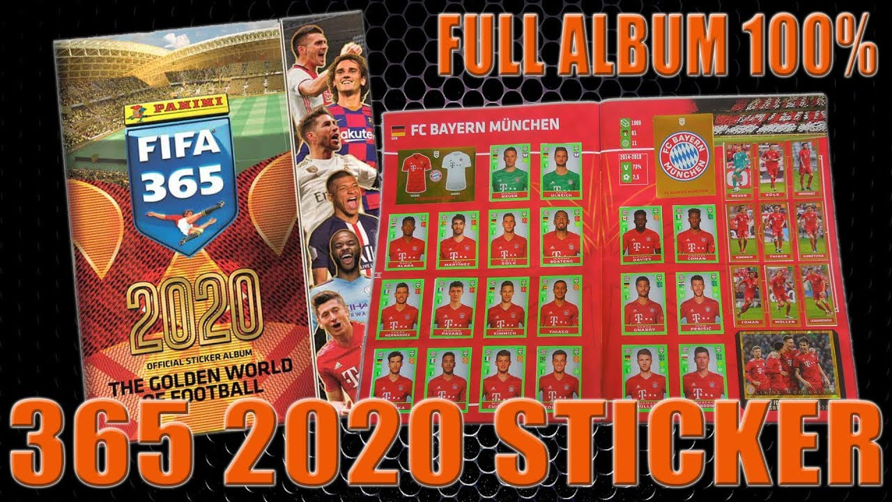 Panini FIFA World Cup Russia 2018 One Album BLISTER 5 Pack 25 Stickers TOTAL
