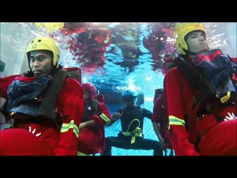HUET: Helicopter Underwater Escape Training