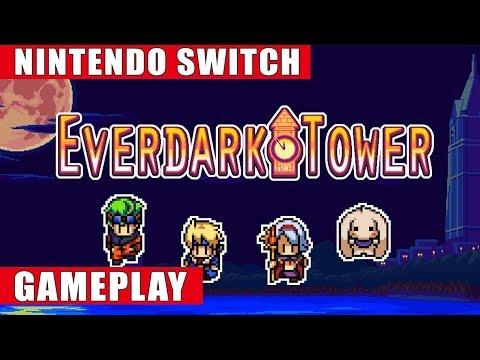 Everdark Tower Nintendo Switch Gameplay