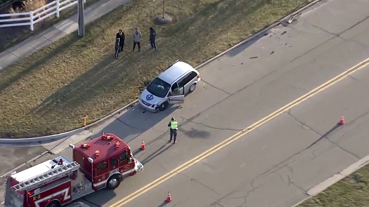 Canton police care involved in rollover accident