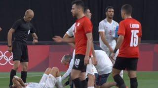 Олимпиада 2020 ЖУТКАЯ ТРАВМА испанца Даниэля Себальоса в первом матче на Играх в Токио