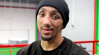 Tyrone Nurse talks next British title defence against Joe Hughes and working with Dad