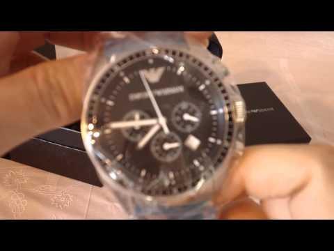 Latest Fashion Armani Watch AR0585 Review Australia Luxury Men Watch