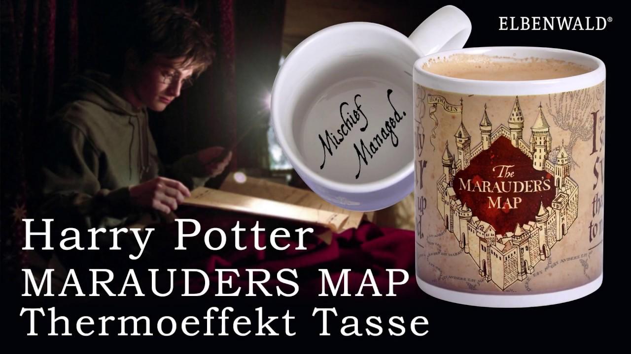 Harry Potter Marauders Map Thermoeffekt Tasse Elbenwald