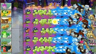 Plants vs Zombies 2 Greatest Hits Epic Hack - Level 62 - This is A War!