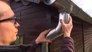 Cullyx, handige dakgoten. Afvoer plaatsen - TIP