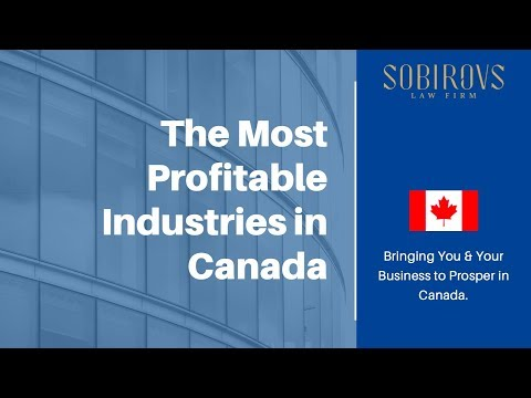 The Most Profitable Industries In Canada