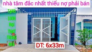Bán ngôi nhà mới xây, tặng luôn nội thất trong nhà,khu phố Long Tân, Phường long Thành Bắc