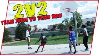 (We Almost Died!) Out Of Shape 2v2 Challenge! | IRL Basketball Challenge