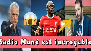 Jose Mourinho Sadio Mane est incroyable , Van Nistelrooy pas surpris de la performance du lion
