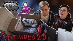 Postivideo 28 - Luetaan megaläjäys postia, osa 1/2