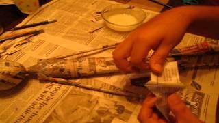 Paper-Mache Slender Man