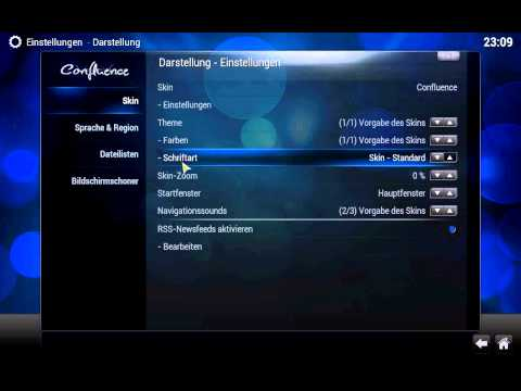 XBMC Tutorial - Overview und Grundfunktionen - (Deutsch) - Teil 1