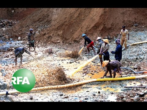 Myanmar's Gold Mines: The Environmental and Human Cost | Radio Free Asia