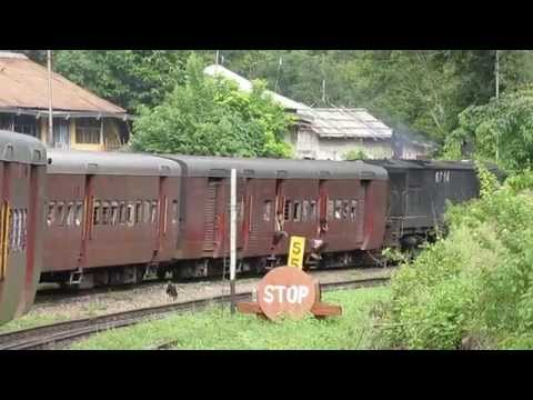 15692 Silchar-Lumding Jn Cachar MG Express departing from Mupa railway station!