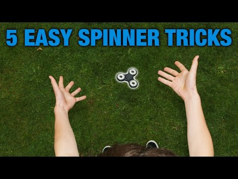 Thumbnail: 5 EASY FIDGET SPINNER TRICKS FOR BEGINNERS