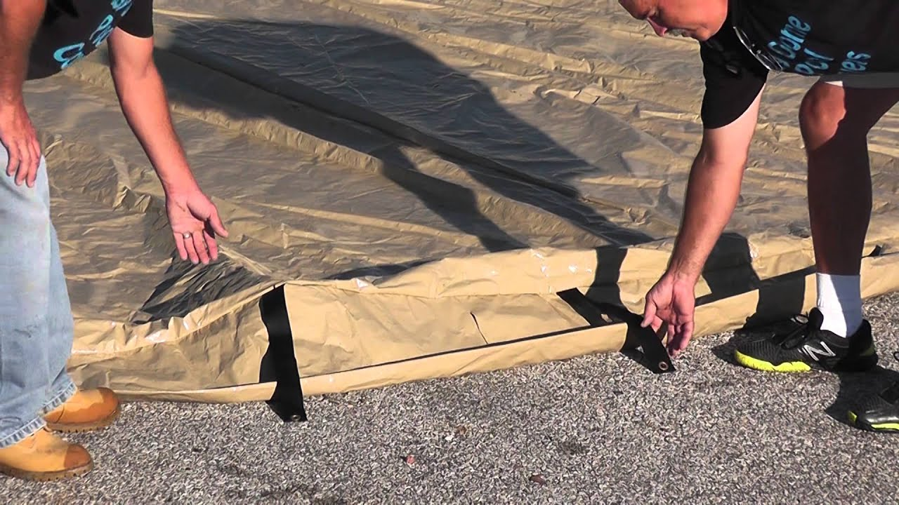 Installing The Easy Dome Pool Cover Youtube