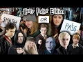 SMASH OR PASS: HARRY POTTER CHARACTERS