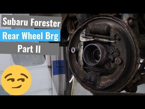 Subaru Rear Wheel Bearing - Part II