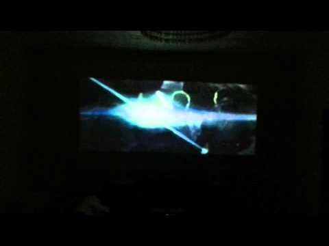 BenQ GP3 2 meters wide screen