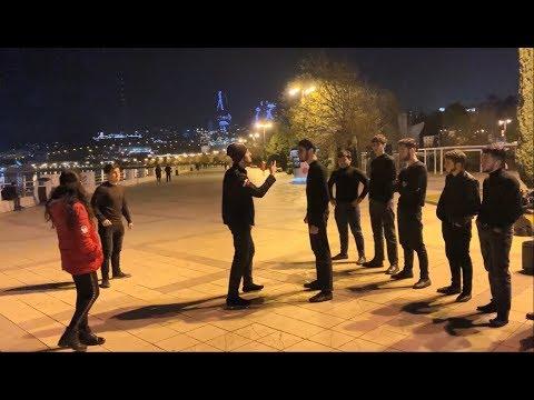 Лезгинка Против Шафл 2020 Lezginka Vs Shuffle Battle ALISHKA ELVIN Lezginka Bulvar (Baku)