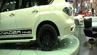 Hasan Kutbi Attending Modified Cars & Invader Display Stand -Dubai MotorShow 2011