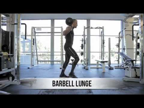 BodyScience Training Tips : Garth Wood Barbell Lunge