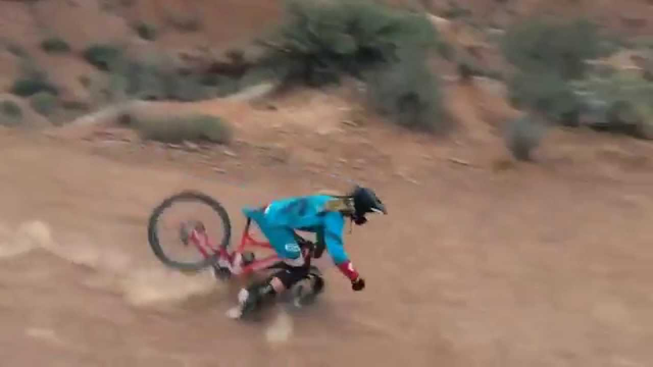 Kelly Mcgarry Crash Red Bull Rampage 2014 Slow Motion