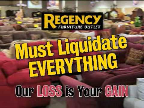 Regency Furniture Total Warehouse Liquidation Youtube