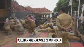 Karaoke di Jam Kerja, Puluhan PNS Dihukum Push Up & Squat Jump