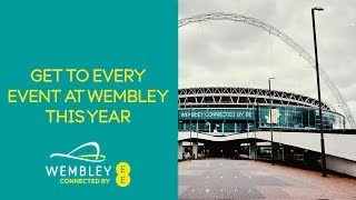 Get To Every Event At Wembley This Year!