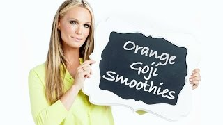 Orange Goji Smoothie | Molly Sims