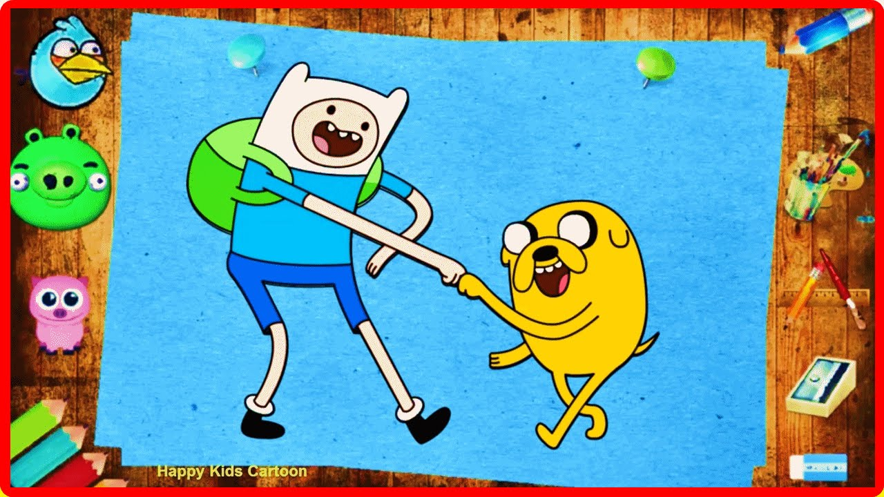 magic pencil adventure time coloring book for kids learn colors