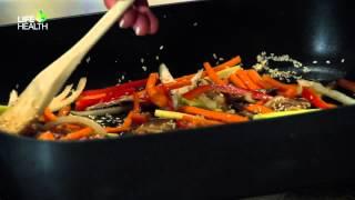 Glass Noodles Stir Fry